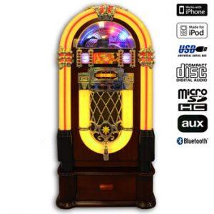 Jukebox i retrodesign - finns hos Ginza.