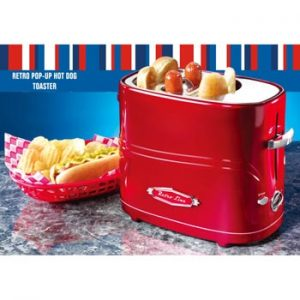 """Retro Line / Hot dog pop up toaster"" från Ginza."