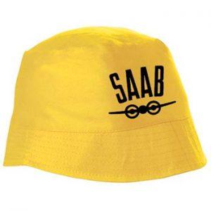"""Saab gul solhatt"" ur Ginzas sortiment."